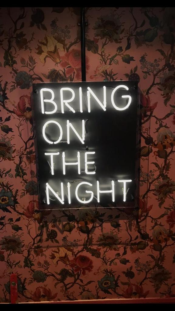 Bring on the Night Neon sign blneonsigns
