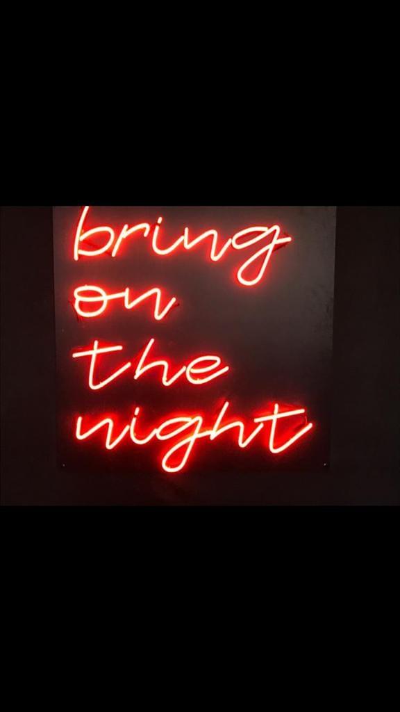 Bring on the night script effect neon lights