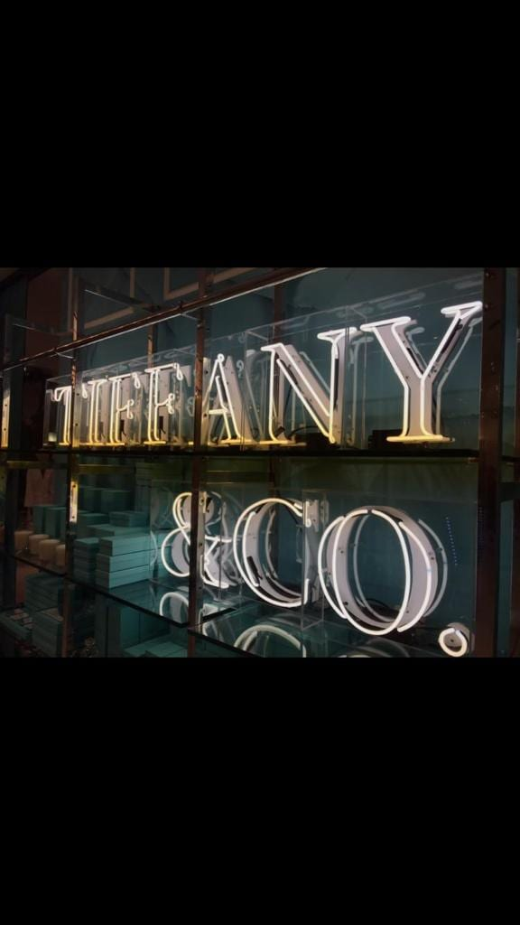 Tiffany and co neon sign BL Neon Signs ireland