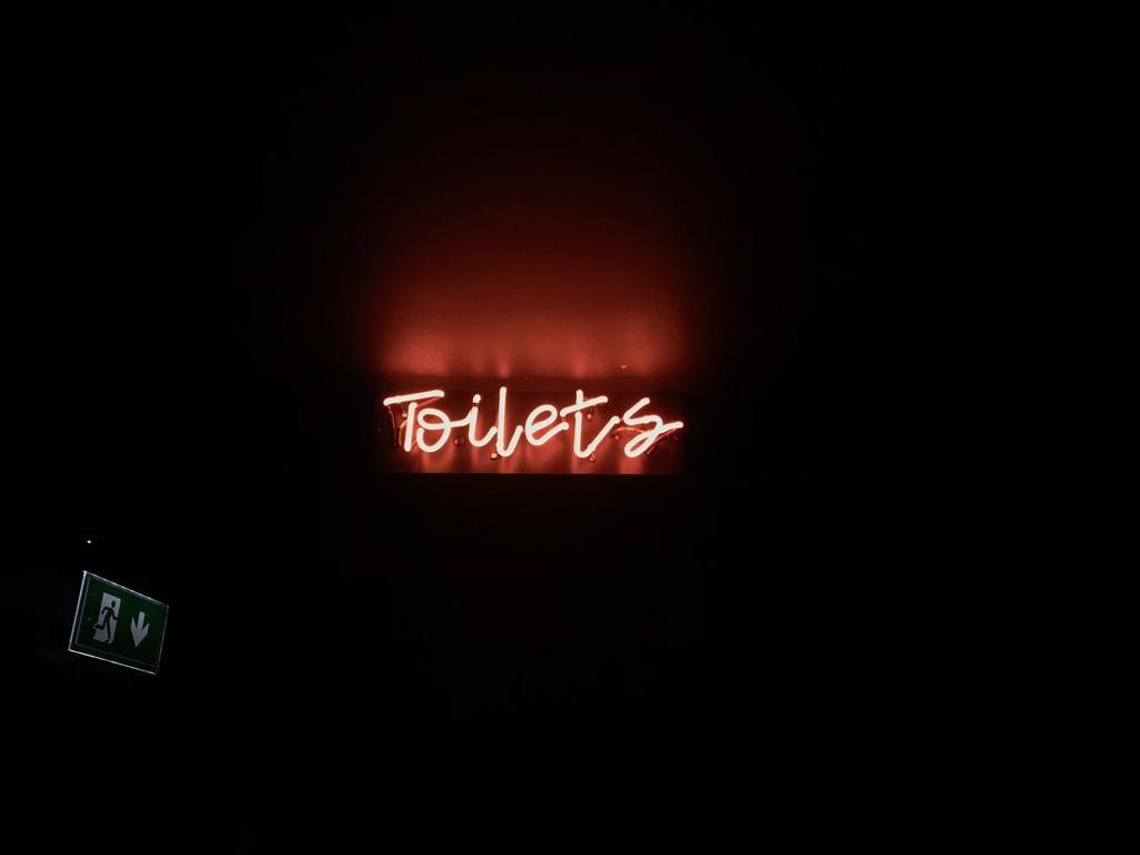 Toilets Neon Sign BL Neon