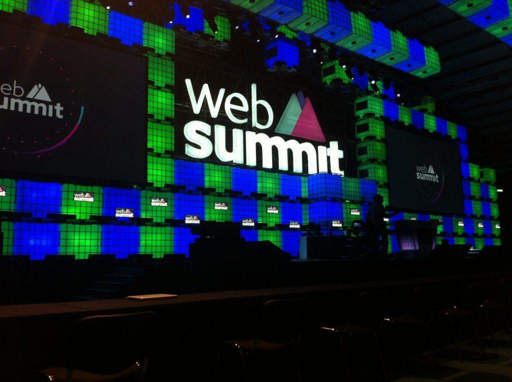 web summit neon bl sign ireland